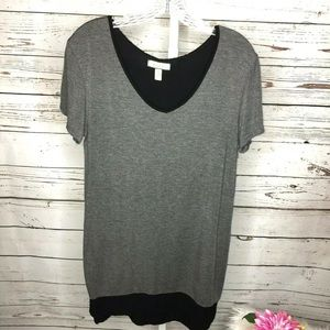 Nicole Miller tunic top size large